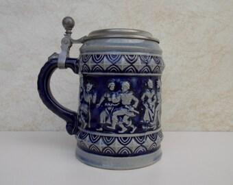Old Pewter Mug Etsy