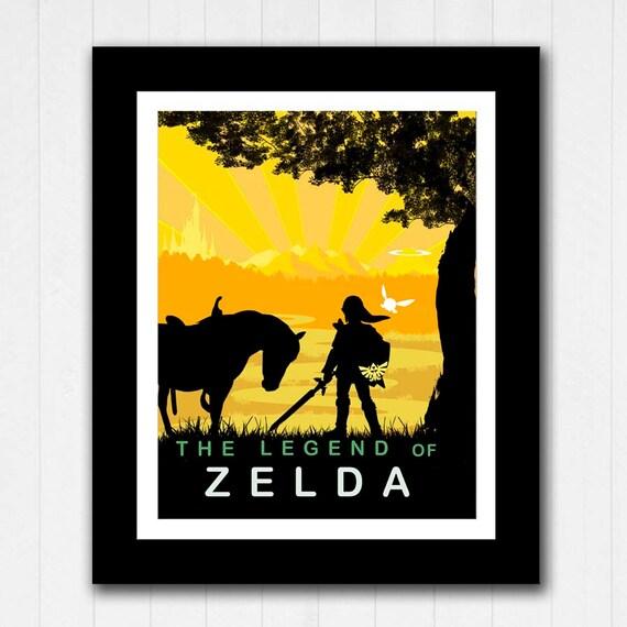 Minimalist Classroom Zelda ~ Legend of zelda minimalist poster buy get free