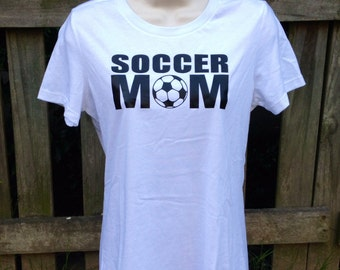 Soccer Mom shirt, fitted t-shirt, custom shirt