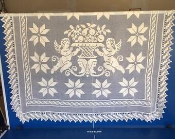 Crocheted Figural Pillow Sham