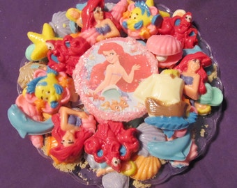 Little Mermaid chocolate candy trays