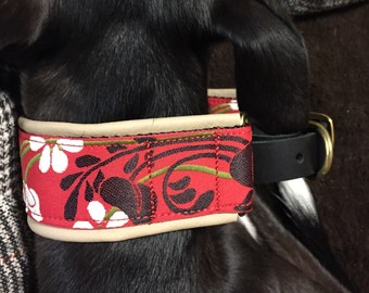 Custom leather collar