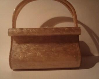 Rare Wilardy Lucite purse