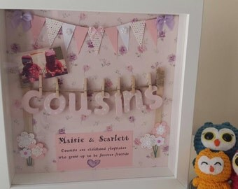 cousin keepsake frame