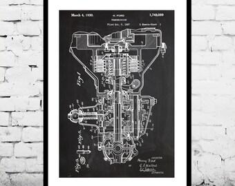 Henry Ford Transmission Print, Henry Ford Transmission Poster, Henry Ford Transmission Patent, Transmission Blueprint, p158