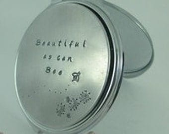 Personalised mirror compact
