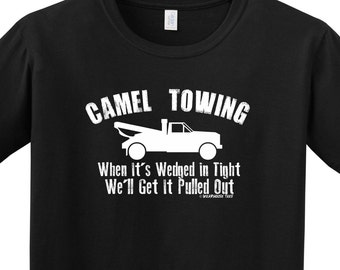 Camel Towing T Shirt Tee Funny Toe Skater Redneck Country Frat College All Sizes FREE Shipping