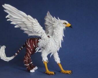 Gryphon figure, figurine mythical creatures,fairy-tale creature,Gryphon sculpture ,Gryphon statue