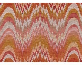 LEE JOFA KRAVET Bargello Jacquard Upholstery Fabric 10 Yards Nectar Peach Multi