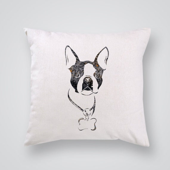 Home Decor Boston: Boston Terrier Affordable Home Decor By MaryWatercolorWords