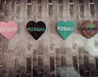 ZQUAD    Zayn Malik Heart Pins