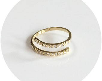 Open End Jewel Ring