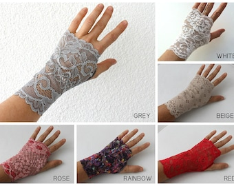 Lace Gloves, Lace Mittens