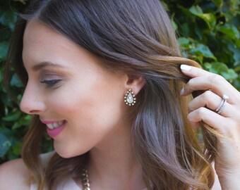 Bridal Crystal Earrings, Tear Drop Earrings, Crystal Earrings, Bridesmaid Earrings, Bridesmaid Gift, Statement Earrings, Earrings