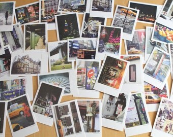New York Travel Postcards thank you cards, pack of 40 mini cards