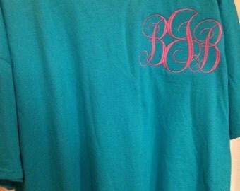Fancy Large Monogram Shirt