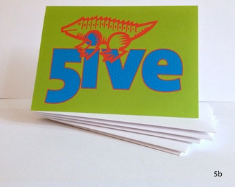 FUN Birthday Cards for Kids ages 5 - 8: Series F