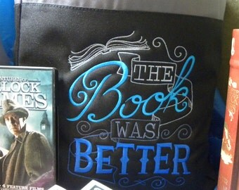 The Book Was Better - Bag