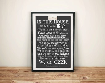 Geek (A) - In This House   We Do Geek