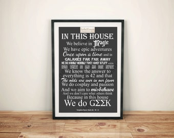 Geek Decor Etsy