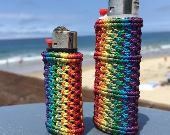 Macrame Lighter Case