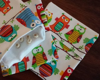 Reusable Eco friendly Organic Sandwich Bag / Snack Bags/Back to school