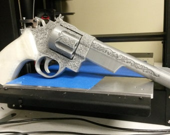 3D Printed Mysterious Magnum Replica Pistol Kit