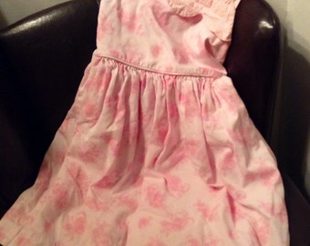 Dress Little Girls Size 5 ~ 100% Cotton ~ Made in USA