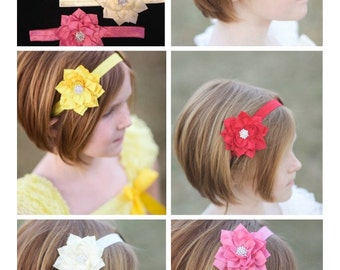 Girl's Headband Set (5 different color)