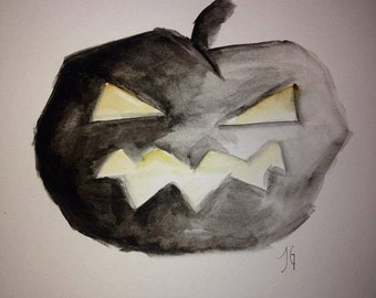 Scary but Simple... Halloween Watercolors