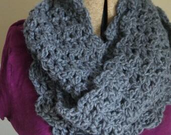 Lattice Work Scarf - Crochet