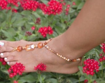 Citrus Orange-Foot Jewelry