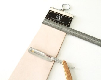 "Premium XXL & XXW Straight Razor Strop  ""StropZilla"" fits your whole razor blade!"