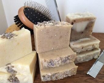 ALL NATURAL DOG Soap/shampoo bar....Bug Repelling Shampoo Bar with essential oils