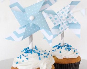 first birthday boy, first birthday boy decoration, first birthday boy theme, baby boy birthday, baby boy birthday decorations, pinwheels
