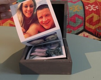 Wooden Folded Picture Box