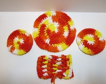 Unique Crochet Bath Sets Related Items Etsy