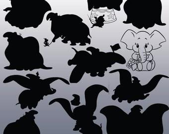 Dumbo clipart | Etsy