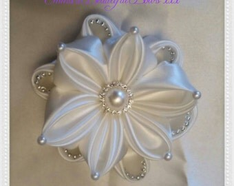 Kanzashi Bridal Special Occasion  Flower Hair Clip