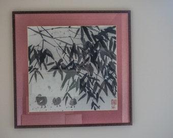 "Chinese painting ""Bamboo"""