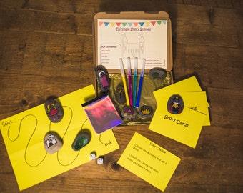 fairytale story stones education kit
