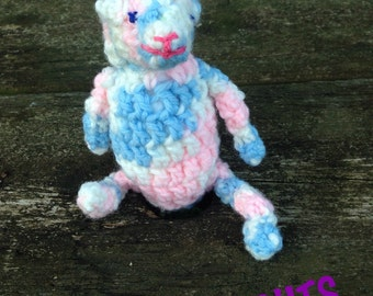 Crochet Stuffed Monkey