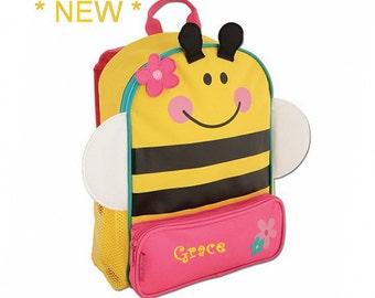 Personalized Bumble Bee Sidekick Backpack