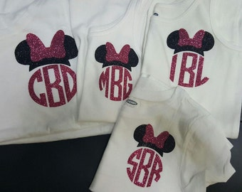 Minnie Monogram Shirts