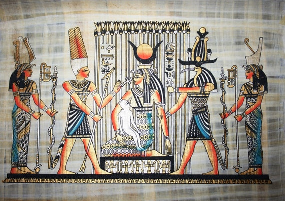 Ancient Egypt Papyrus Paper