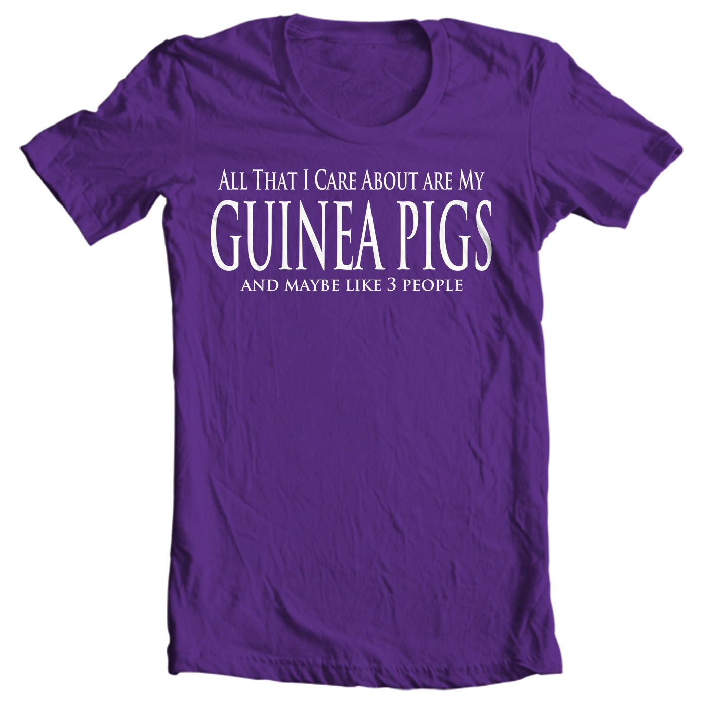 All That I Care About Are My Guinea Pigs Kids T-shirt