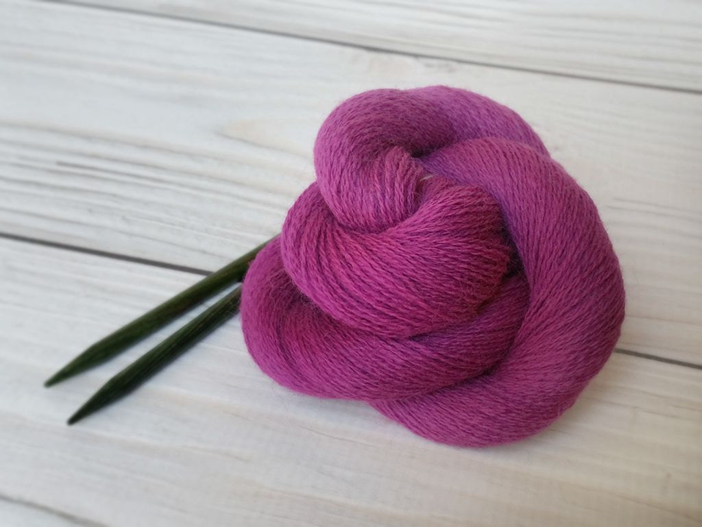 Wool Yarn Lace Weight Yarn Knitting Yarn Crochet by AgapeFibers