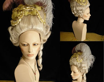 White Women Wig for Costume - wig03