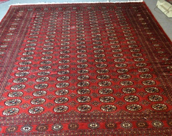 Pakistani Hand Made Bokhara Rug Carpet Teppich Luxourius Rug