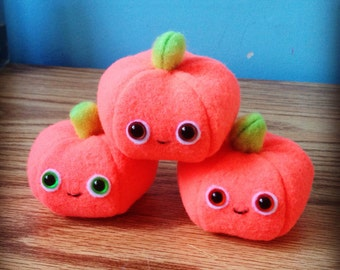 Pumpkin Plushes
